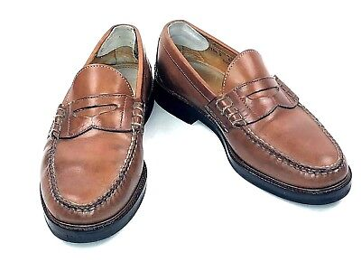 224f46eb61d Alden Full Strap Penny Mocc Cape Cod Collection 10.5 D Loafers USA Made