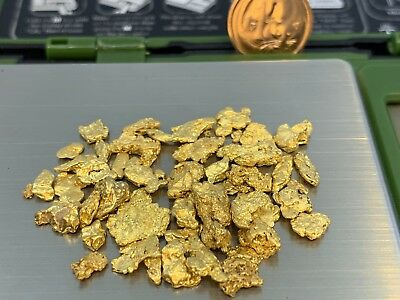 Australia Natural Gold Nugget / Nuggets Weight 18.80 Grams
