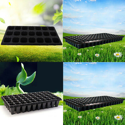 Practical Multi-Cell Seedling Starter Tray Seed Germination Plant Propagation Cs