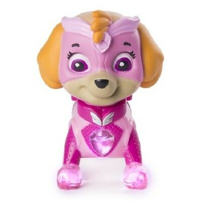 Paw Patrol Light-Up SKYE Mighty Pups Figure Walmart Exclusive NEW