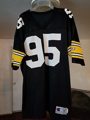a000cebf8 Vintage 90 s Champion Jersey GREG LLOYD PITTSBURGH STEELERS  95 Mens NFL  Team 48