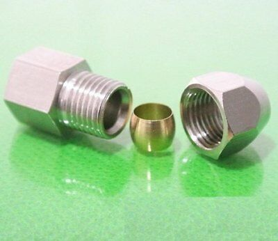 """Fitting Compression 12mm OD Tube to Pipe NPT 3/8"""" Female"""