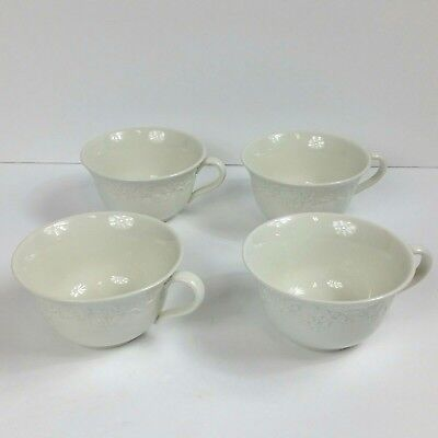 Ralph Lauren Claire By Wedgwood Made In England 4 Tea Cups Only