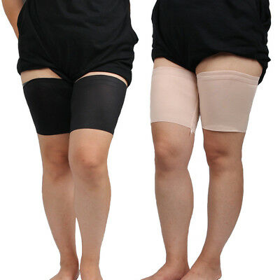 1 Pair Soft Stretchy Elastic Non-slip Silicone Thigh Band Slimmer Anti-Chafing