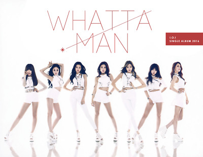 PRODUCE 101 I.O.I [WHATTA MAN] 1st Single Album CD+Photo Book+Card K-POP SEALED
