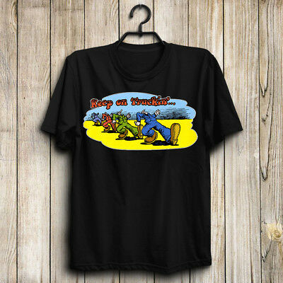 Keep On Truckin Man's US shirt-Top Gift- Size S to 5XL