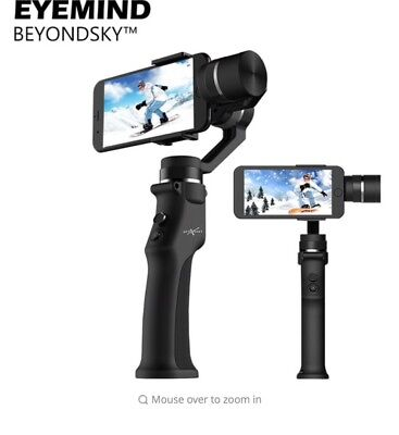 Eyemind 3-Axis Handheld Stabilizer Camera Mobile Phone Gimbal for iphone Android