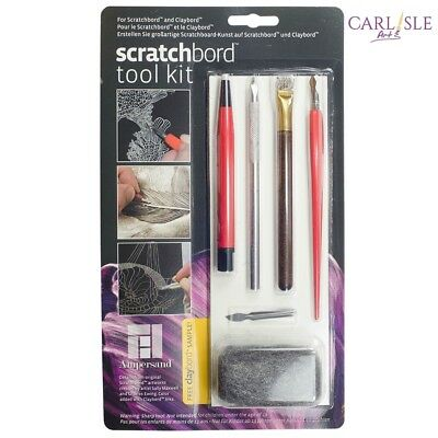 Ampersand Scratchbord Tool Kit
