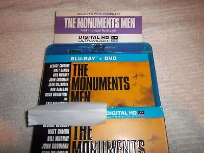The Monuments Men (Digital Code only no case no disc hd code only