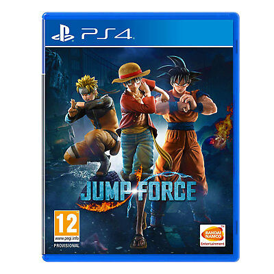 Jump Force (PS4) Game | Brand New & Sealed | + Fast & Free Recorded Delivery !