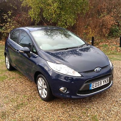 FORD FIESTA 1.25 ( 82ps ) 2009MY ZETEC 5 DOOR 2 OWNERS WITH SERVICE HISTORY