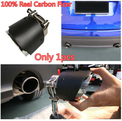 Real Carbon Fiber Car Exhaust Tail  Pipe Silencer Accessory For Jaguar F-PACE