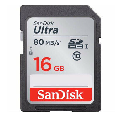 [Au Stock] - Sandisk Ultra 80MB/s U1 Class 10 UHS-I SD Card 16GB 32GB 64GB 128GB