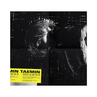 TAEMIN - WANT (2ND MINI ALBUM) CD+PHOTOBOOK+PHOTOCARD+PAPER TOY+Folded poster
