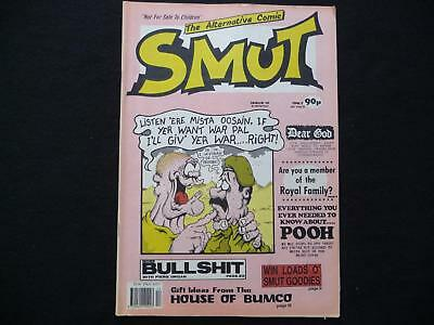 Smut The Alternative Comic issue 10 - Adult British comic (LOT#1233)