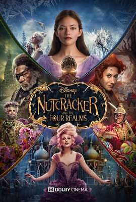 The Nutcracker and the Four Realms(2018) Digital HD code WATCH NOW! dvd included