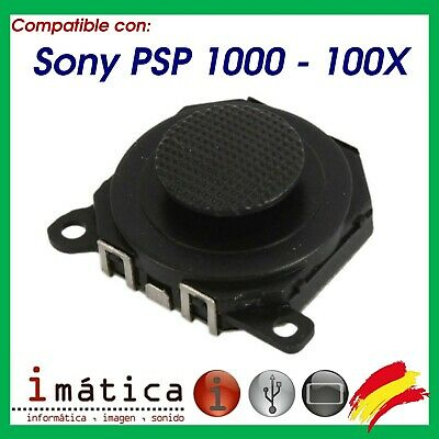 Joystick Analogico Para Psp 1000 1004 Color Negro Repuesto Porrita Stick Fat