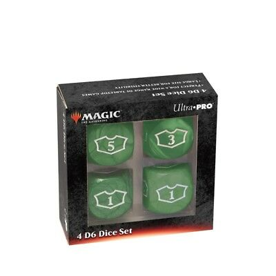 Loyality Green Dice - UP Set di Dadi Deluxe (6 Facce)