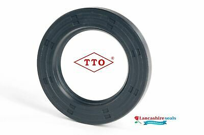 Business & Industrial LOT2 Nitrile Rubber 20mm Rotary Shaft seal Double Lip TC with Ring Spring
