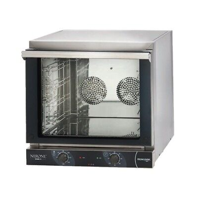 OVEN CONVECTION OVEN MECHANICAL 4 TRAYS 435x350/433x322 - 3,15 kW mod. NERO 595