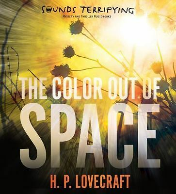 H.P. Lovecraft The Color Out of Space Audio Book Brand New Sealed on CD F/S