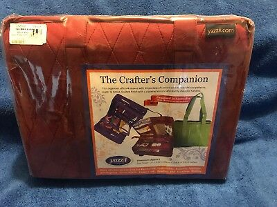 YAZZII Crafters Companion Bag (Maroon) - NEW