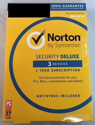 Norton Security Deluxe 3 Device PC Product Key & Digital Delivery ASAP