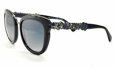 0bad4052bb9 CHANEL Butterfly Bijou Limited Sunglasses 5356 1462 K4 Blue Grey Polarized