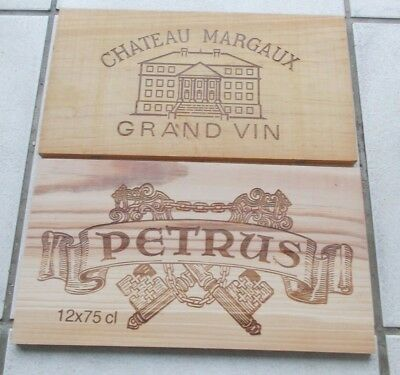 Lot De 2 Estampes  Grands Vins De Bordeaux  Petrus  ,margaux