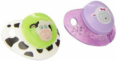 NUK Advanced Clear Shield Orthodontic Pacifier, Size 1, Assorted colors