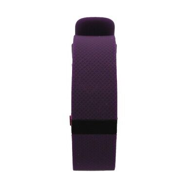 Fitbit Charge HR Wireless Activity Wristband - Plum/Small FB405PMS *Refurbished
