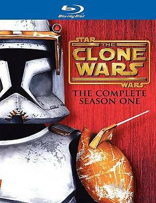 Star Wars: The Clone Wars - The Complete Season One (DVD, 2011, 4-Disc Set)