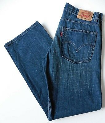 Boys' Men's Levis 569 Loose Straight Leg Jeans W29 L29 Blue Levi Strauss