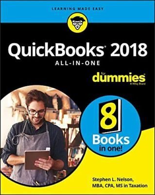 QuickBooks 2018 All-in-One For Dummies( PDF/ EB00K)