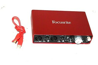 FOCUSRITE SCARLETT 2I4 2nd USB Audio Interface 24-bit, 96kHz Sampling 2  in/4 out