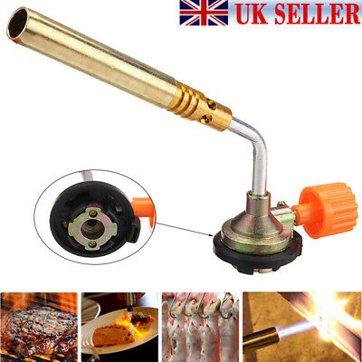 Flamethrower Burner Butane Gas Blow Torch Ignition Welding Camping BBQ Use