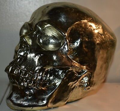 "LATEX MOULD MOLD OF AN EXTRA LARGE  SKULL APPROX 5""  tall x 7"" long"