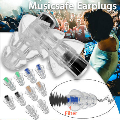 27db Noise Canceling Earplug For Concert Musician Motorcycle Hearing