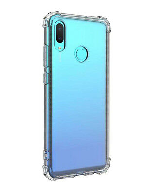 SDTEK Huawei P Smart (2019) Case Cover Protection Gel Bumper Soft Silicone Clear