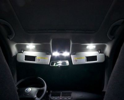 VW Golf 4 IV GTI GT R32 - 9 LED SMD Innenraumbeleuchtung Set Premium WEISS 6500K
