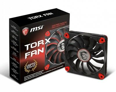 MSI TORX FAN 12cm PWM Cooling PC Case Cooler Fan [F93]  QUICK SALE LIMITED STOCK