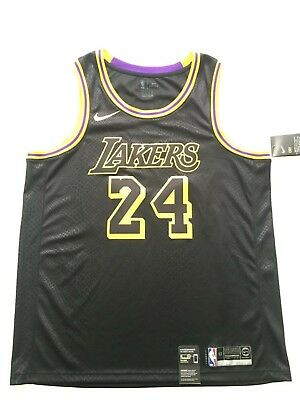 8d5ca107532 Fan Apparel   Souvenirs Basketball-NBA Nike LA Lakers KOBE BRYANT   8 Jersey  BLACK MAMBA Swingman Mens ...