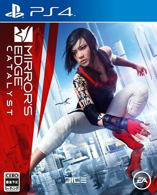 USED PS4 MIRRORS EDGE CATALYST Japan Import F/S
