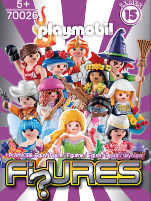 PLAYMOBIL PLAYFIGURE 70026 Mystery Figures Series 15 Girls Blind Bag