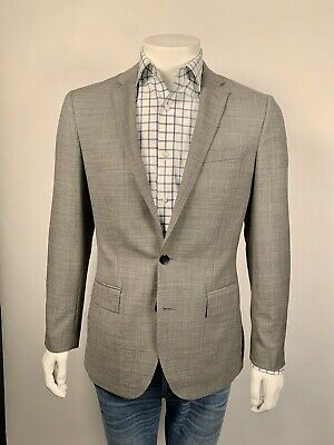 J Crew 34x30 Ludlow Slim Suit Pant Italian Strch Worsted Wool Mineral Grey G1110