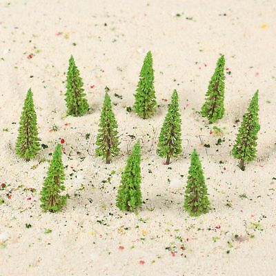 50x Model Trees Train Scenery Wargame Diorama Layout Landscape HO OO Scale 1:100