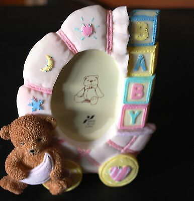 SH Collection -  Ceramic Baby Girl Photo Frame - 6 x 9cms