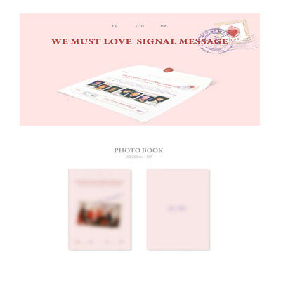 ONF 3rd Mini Album - WE MUST LOVE ALBUM + Folded poster