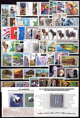 Germany: Year 1995-1999 Complete Mnh** Value $710