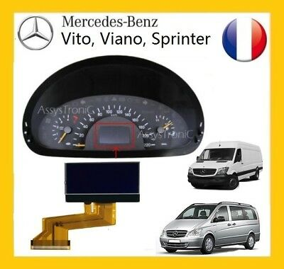 Screen OBD Counter LCD of Mercedes Vito/Viano from 2004
